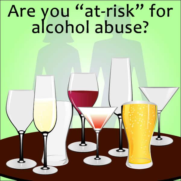 at-risk drinking alcoholism