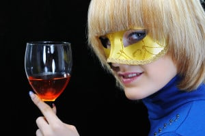 bigstock-Young-Woman-Drinking-Wine-27556253