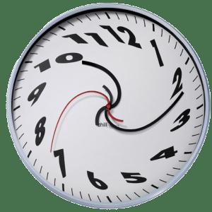 warped clock