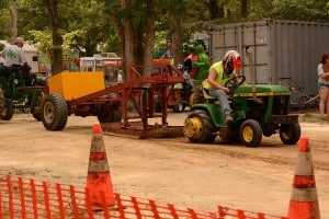 Missouri DWI on a lawnmower