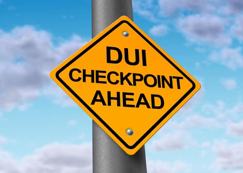 california highway patrol dui checkpoint